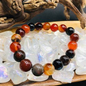 Jewelry - Genuine Carnelian Bracelet
